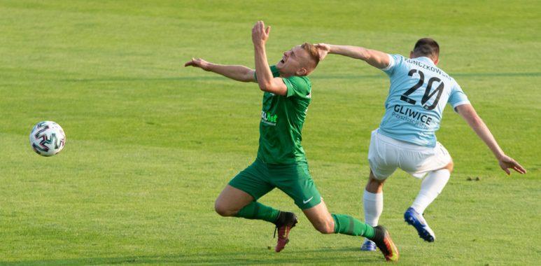 Warta Poznań - Piast Gliwice 0:0. Michał Jakóbowski