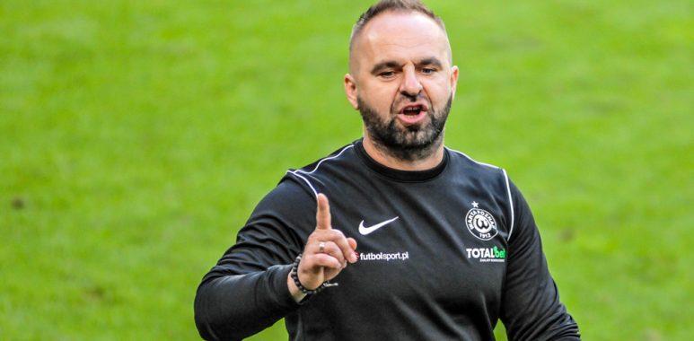 Lech Poznań - Warta Poznań 1:0. Trener Piotr Tworek
