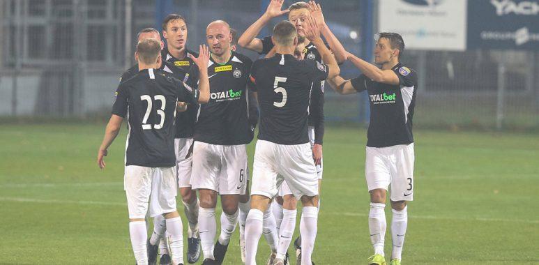 Sokół Ostróda - Warta Poznań 1:3 w Pucharze Polski