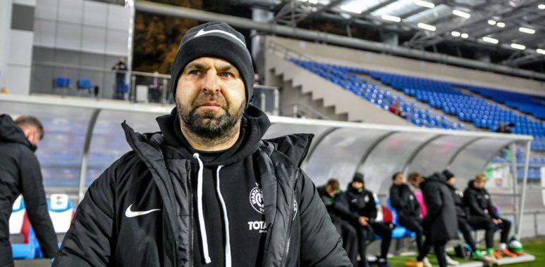 Sokół Ostróda - Warta Poznań 1:3 w Pucharze Polski. Trener Piotr Tworek