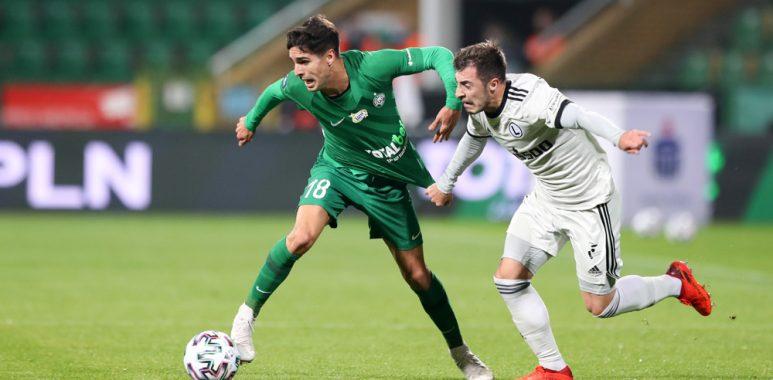 Warta Poznań - Legia Warszawa 0:3. Mario Rodriguez