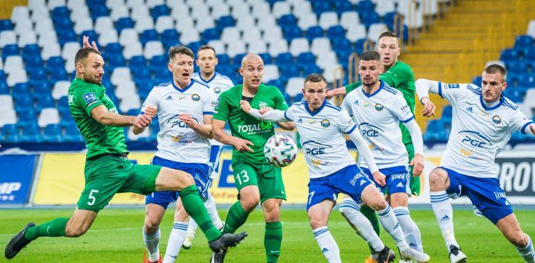 Stal Mielec - Warta Poznań 0:1. Bartosz Kieliba, Jakub Kuzdra