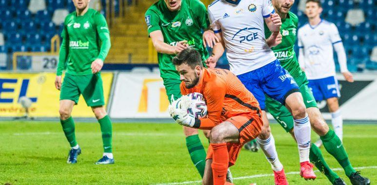 Stal Mielec - Warta Poznań 0:1. Bartosz Kieliba, Robert Ivanov, Daniel Bielica