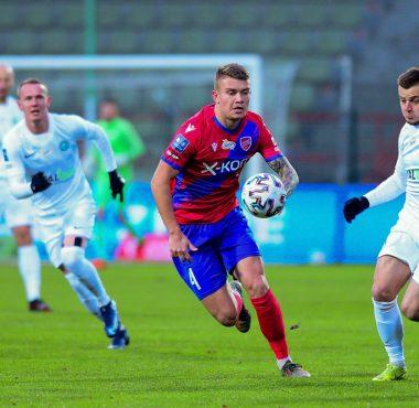 Raków Częstochowa - Warta Poznań 1:0. Michał Jakóbowski