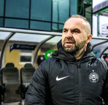Raków Częstochowa - Warta Poznań 1:0. Trener Piotr Tworek