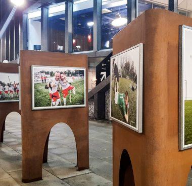 """""""Amp futbol w Poznaniu"""" - wystawa Warty Poznań, Vox Artis i Concordia Design"""