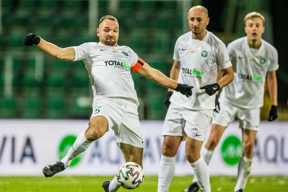 Warta Poznań, mecz PKO Ekstraklasy, Bartosz Kieliba, Łukasz Trałka