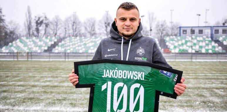 Michał Jakóbowski - 100 występów w Warcie Poznań