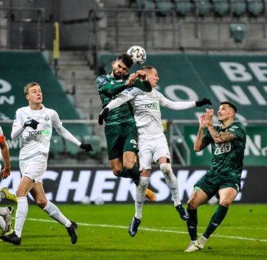Śląsk Wrocław - Warta Poznań 2:1. Mateusz Kuzimski