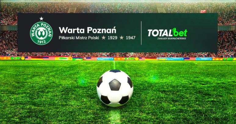Zakłady i promocje na mecze Warty Poznań w TOTALbet
