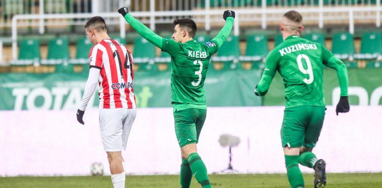Warta Poznań - Cracovia 1:0. Jakub Kiełb