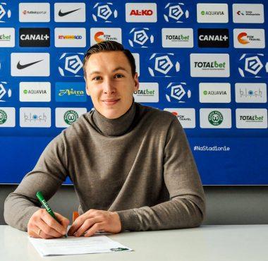 Nowy kontrakt Mateusza Kupczaka z Wartą Poznań