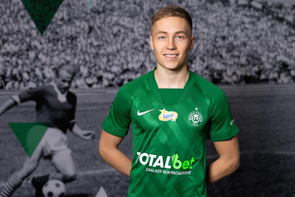 Mateusz Sopoćko podpisał kontrakt z Wartą Poznań