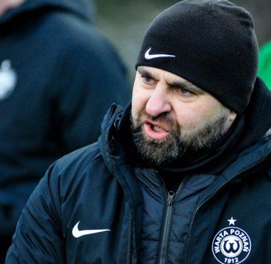 Pogoń Szczecin - Warta Poznań 0:2 w sparingu. Trener Piotr Tworek