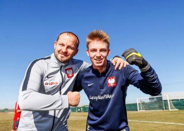 Bartosz Dubel i Wojciech Tomaszewski na zgrupowaniu Talent Pro