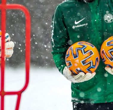 Trening piłkarzy Warty Poznań