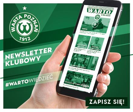 Zapisz się do newslettera Warty Poznań