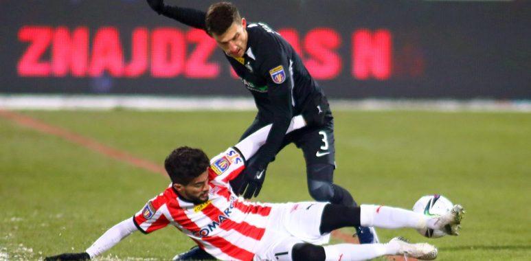 Warta Poznań - Cracovia 0:1 w Fortuna Pucharze Polski