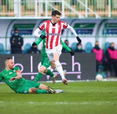 Warta Poznań - Cracovia 1:0. Bartosz Kieliba