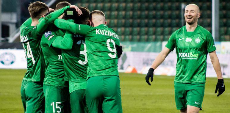 Warta Poznań - Cracovia 1:0. Fot. Klaudia Berda