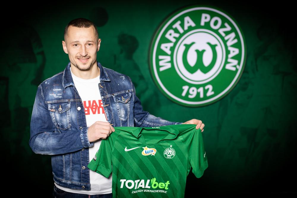 Adam Zrelak podpisał kontrakt z Wartą Poznań