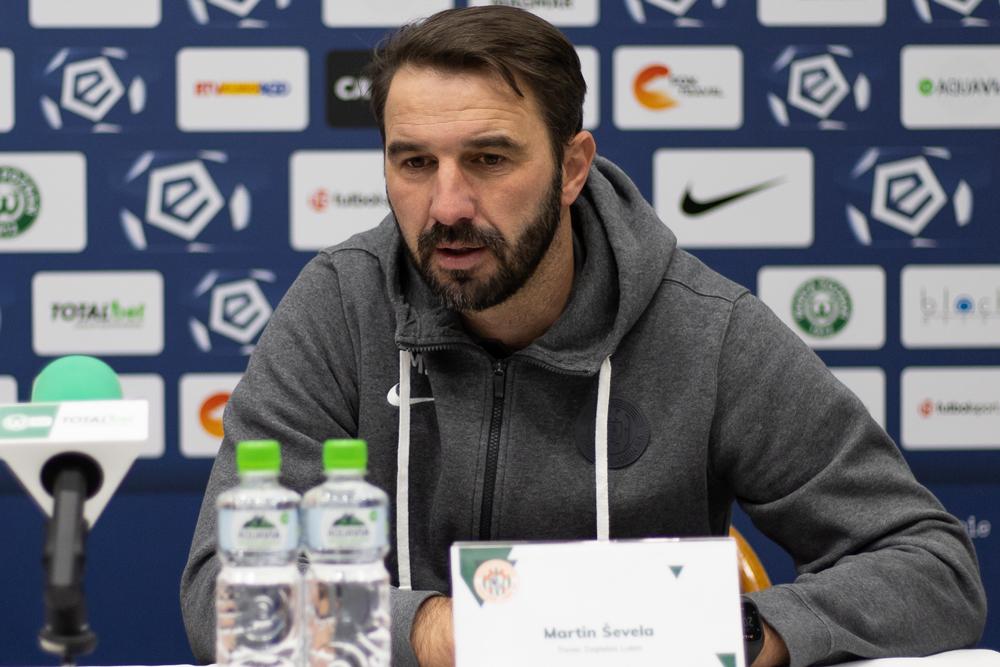 Martin Sevela, trener Zagłębia Lubin po meczu z Wartą Poznań