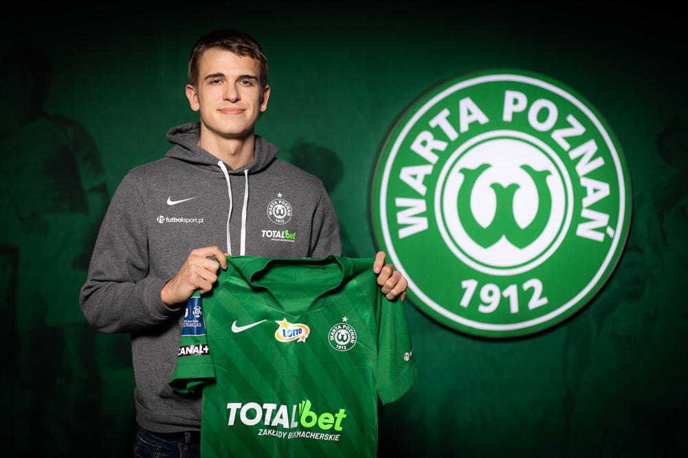 Maik Naworcki podpisał kontrakt z Wartą Poznań