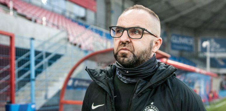 Piast Gliwice - Warta Poznań. Trener Piotr Tworek