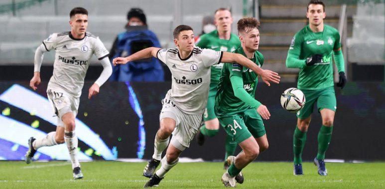 Legia Warszawa - Warta Poznań 3:2. Maciej Żurawski. Szczegółowe statystyki meczu