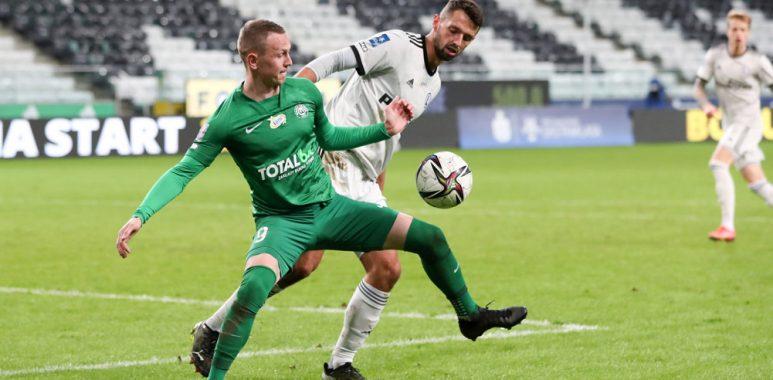 Legia Warszawa - Warta Poznań 3:2. Mateusz Kuzimski