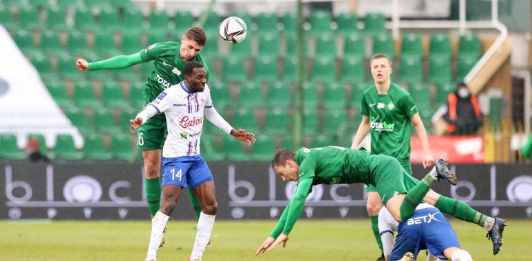 Warta Poznań - Podbeskidzie Bielsko-Biała 2:0. Aleks Ławniczak