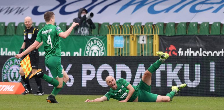 Warta Poznań - Podbeskidzie Bielsko-Biała 2:0. Łukasz Trałka