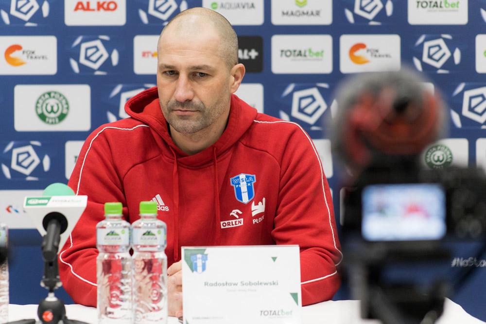 Trener Wisły Płock, Radosław Sobolewski po meczu Warta Poznań - Wisła Płock