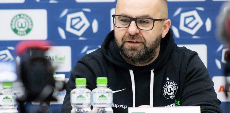 Trener Warty Poznań, Piotr Tworek po meczu z Wisłą Płock