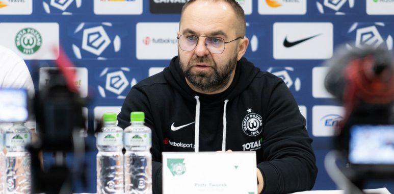 Warta Poznań - Podbeskidzie Bielsko-Biała 2:0. Trener Piotr Tworek