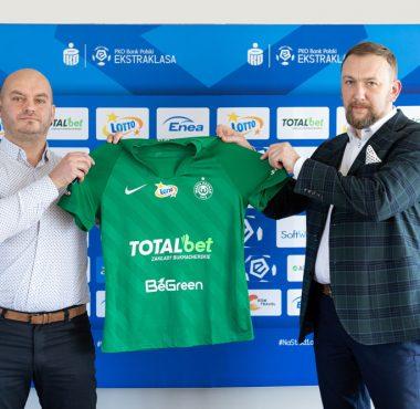 BeGreen sponsorem głównym Warty Poznań; Bartłomiej Farjaszewski i Piotr Lesiński