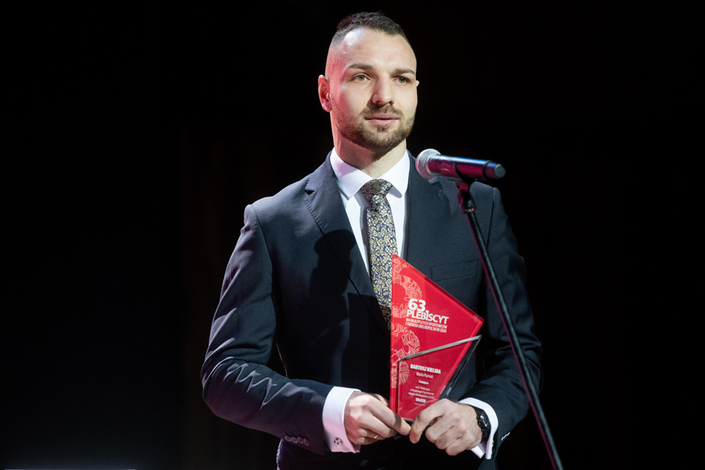 Bartosz Kieliba (Warta Poznań) na 5. miejscu w Plebiscycie Głosu Wielkopolskiego. Enea Gala Sportu