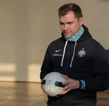 Łukasz Nowak trener Akademii Warty Poznań