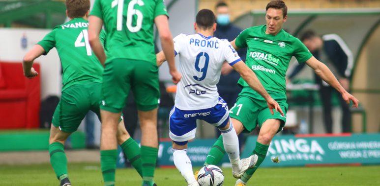 Warta Poznań - Stal Mielec 0:0. Mateusz Kupczak