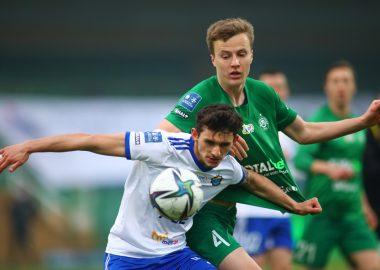 Warta Poznań - Stal Mielec 0:0. Robert Ivanov
