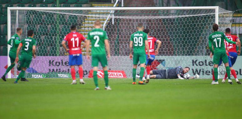 Warta Poznań - Raków Częstochowa 0:2