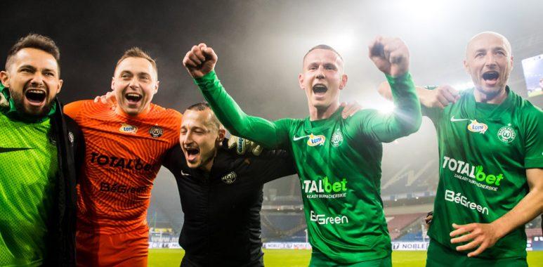 Wisła Kraków - Warta Poznań 0:1. Mateusz Kuzimski