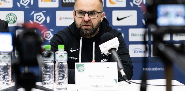 Trener Warty Poznań, Piotr Tworek po meczu ze Stalą Mielec