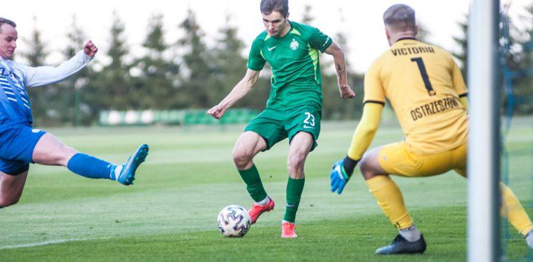 Warta II Poznań - Victoria Ostrzeszów 6:0. Jakub Pietrzak