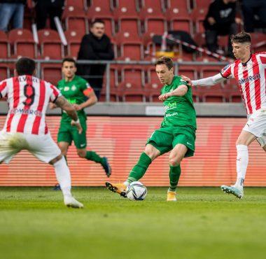 Cracovia - Warta Poznań 0:1. Mateusz Kupczak