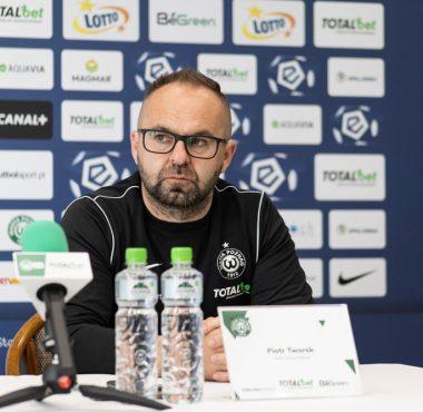 Trener Warty Poznań, Piotr Tworek po meczu Warta Poznań - Śląsk Wrocław