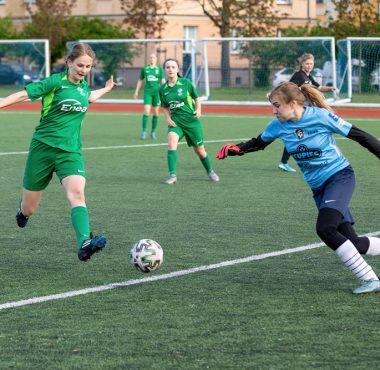 Warta Poznań - AZS PWSZ Konin 8:0 w meczu IV ligi kobiet