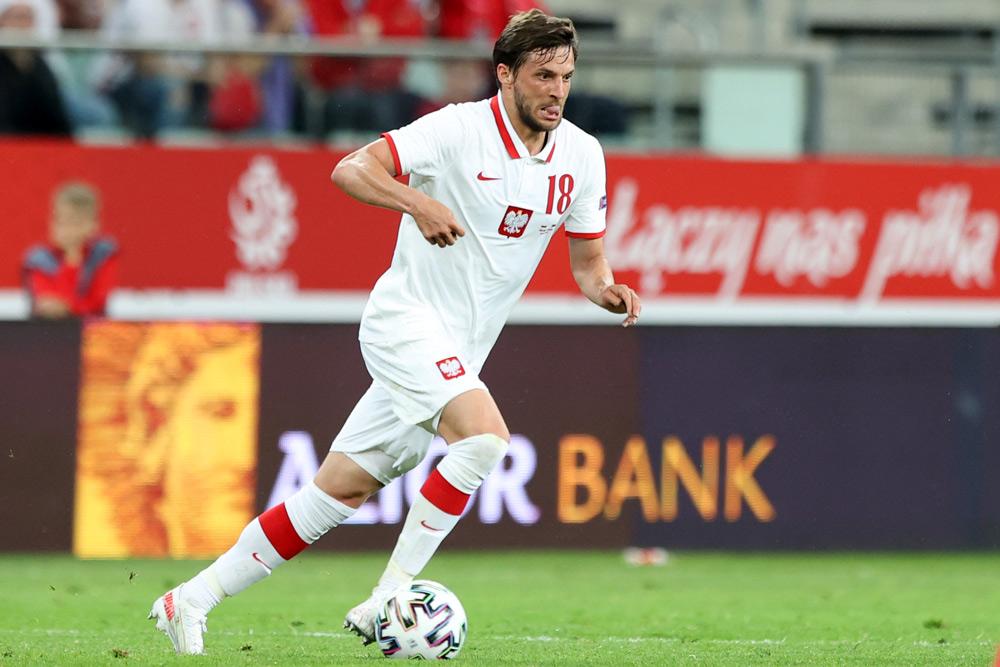 Były piłkarz Warty Poznań, Bartosz Bereszyński w reprezentacji Polski.