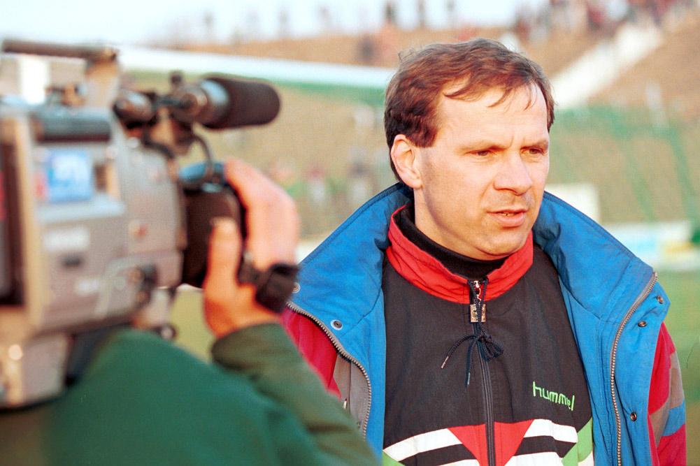 Były piłkarz i trener Warty Poznań, Krzysztof Pawlak