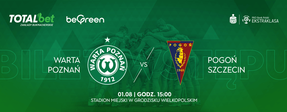 Bilety na mecz Warta Poznań - Pogoń Szczecin